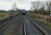 Tödlicher Bahnunfall Landrecht