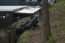 Verkehrsunfall in Wacken