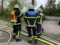 Scheunenbrand in Ecklak