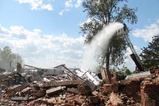 Gebäudebrand Wilster