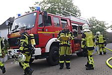 Wohnungsbrand in Horst